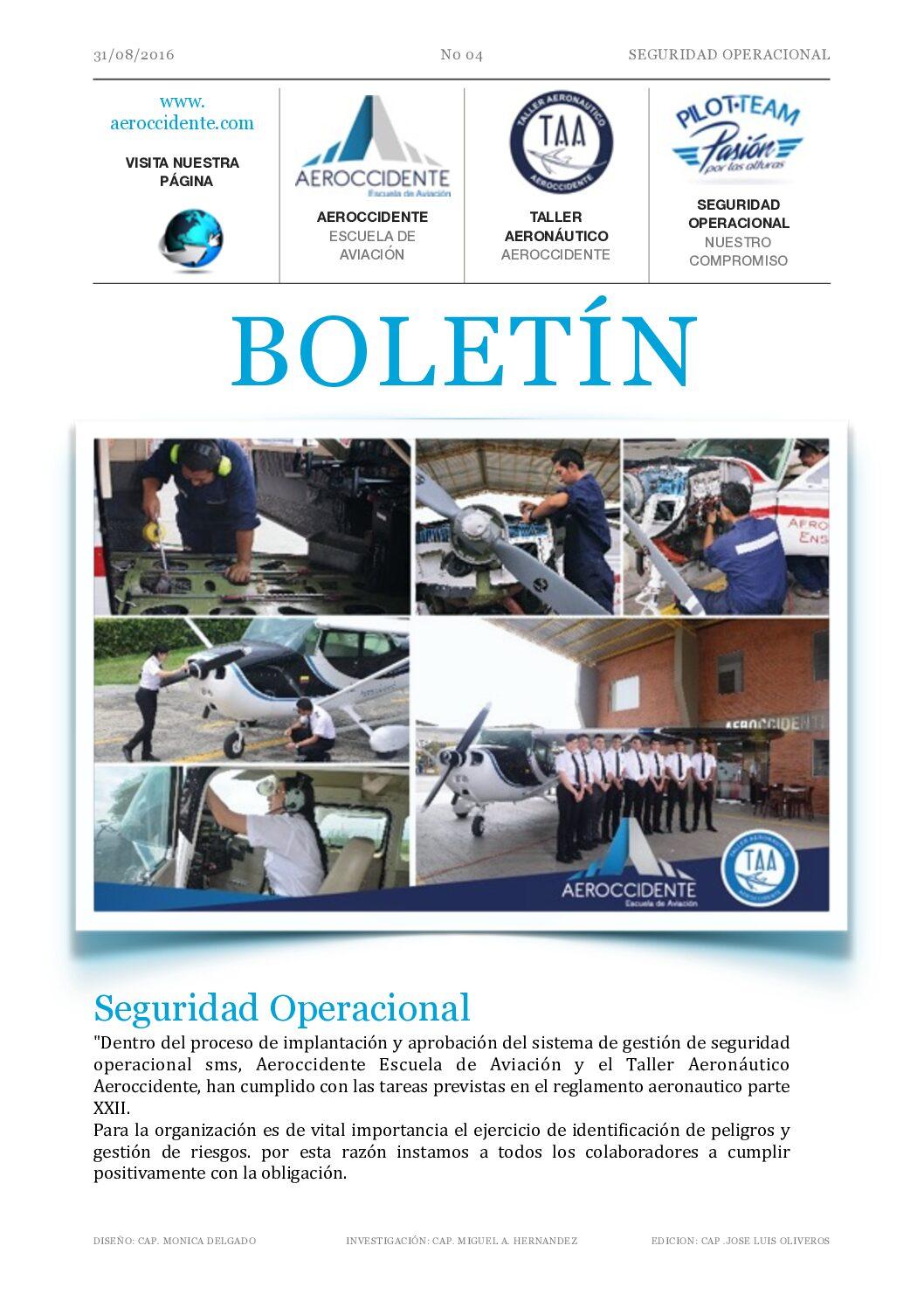 004 Responsables del Sistema de gestión de Seguridad Operacional